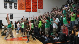 Seniors jump out of the stands to make the most of their last SWOOP