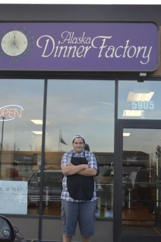 Cody Muzzana at the Alaska Dinner Factory