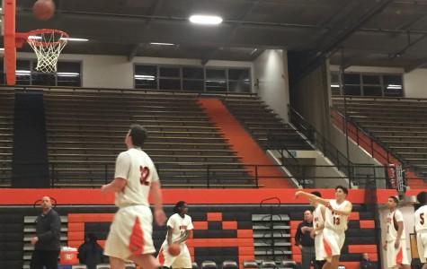 West Anchorage Highschool Junior Varsity basketball team vs Eagle River