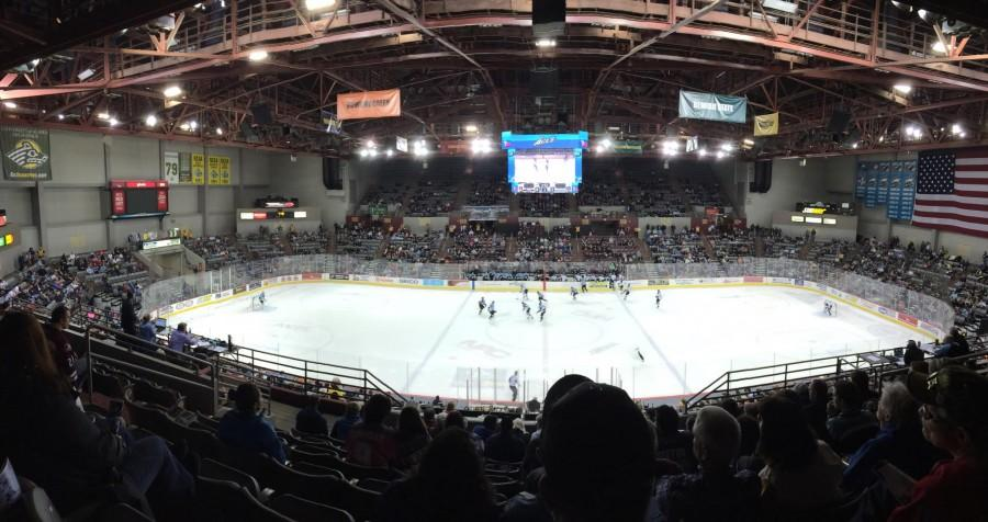 The Alaska Aces play the Idaho Steelheads at the Sullivan Arena on January 22nd.