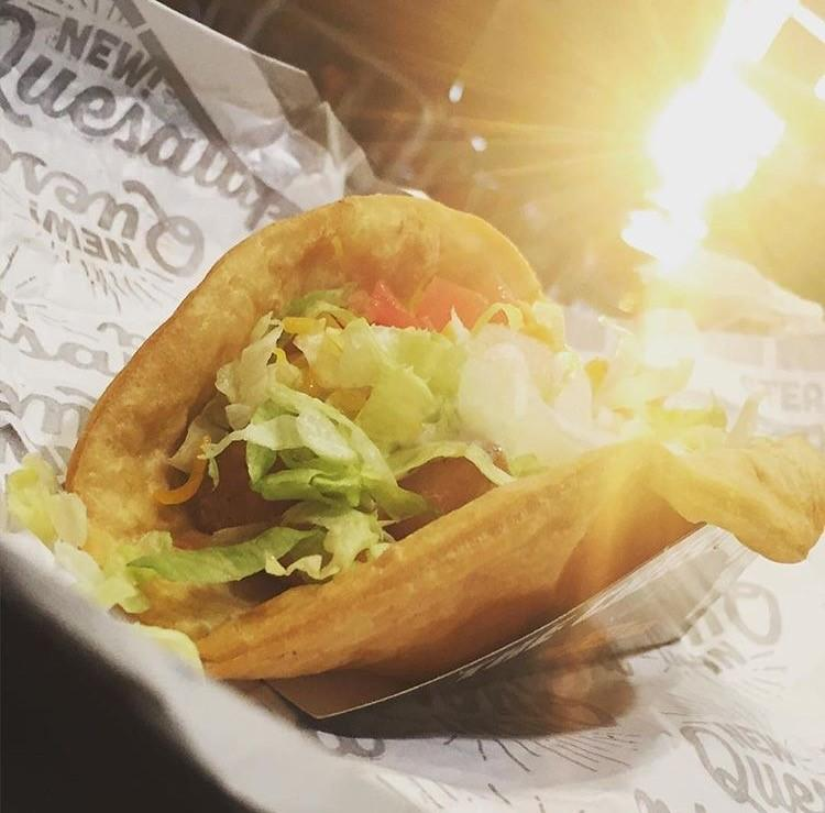 The Quesalupa being enjoyed during the dawn of the day on March 15, 2016