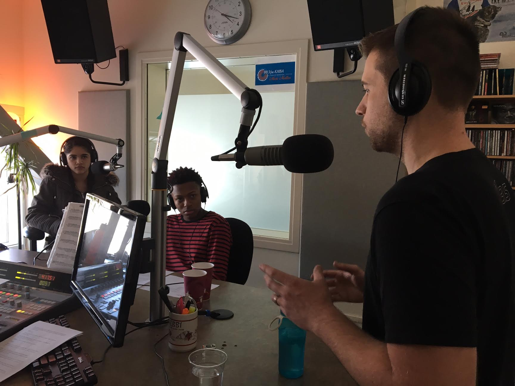 "Youth Reporters, Kendall Stormo and Mike Stallworth interview Anchorage-based gaming app developer Jazon Burnell for their radio show, ""In Other News"" on Feb. 25, 2017."