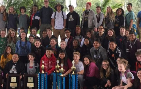 Choir Cleans up in Cali Competition