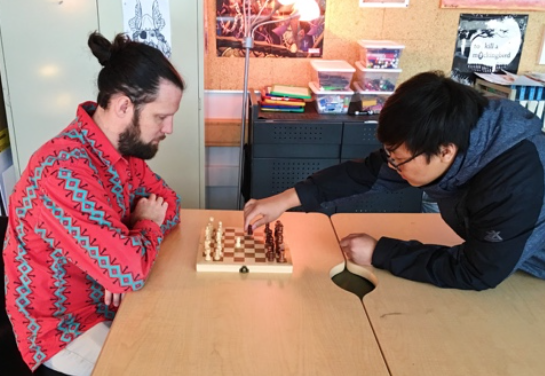 The Next Move: Chess Club
