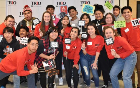 TRIO Upward Bound Student's Take Action